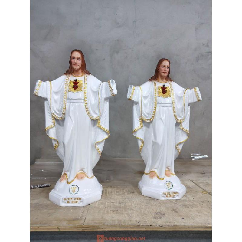 Tượng Chúa Kito Vua Cao 50cm 03