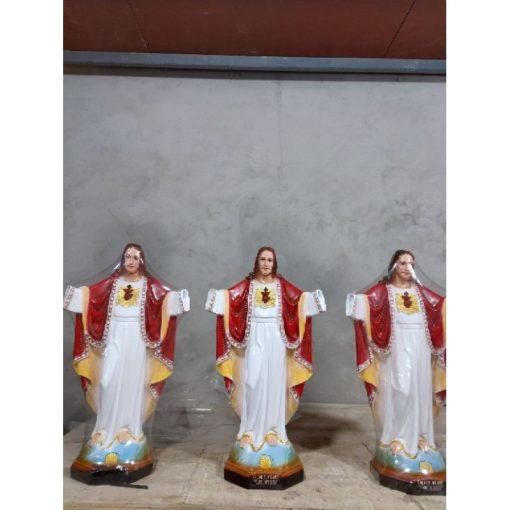 Tượng Chúa Kito Vua Cao 50cm 04