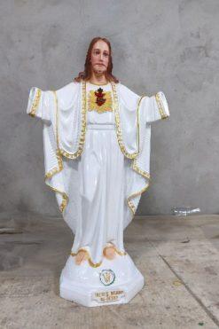 Tượng Chúa Kito Vua Cao 50cm 05
