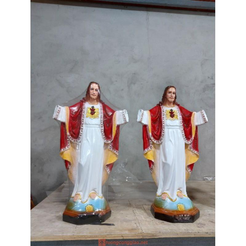 Tượng Chúa Kito Vua Cao 50cm 07