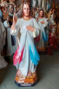 Tượng Chúa Thương Xót 80cm 02