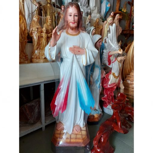 Tượng Chúa Thương Xót 80cm 03