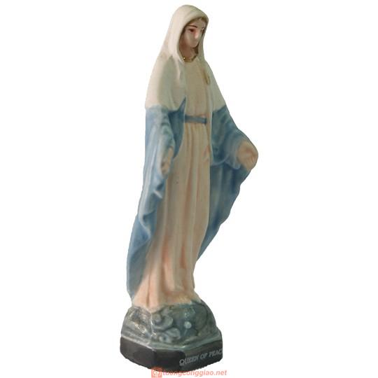 Tượng Đức Mẹ Ban Ơn Sứ Ceramic Cao 11cm 02