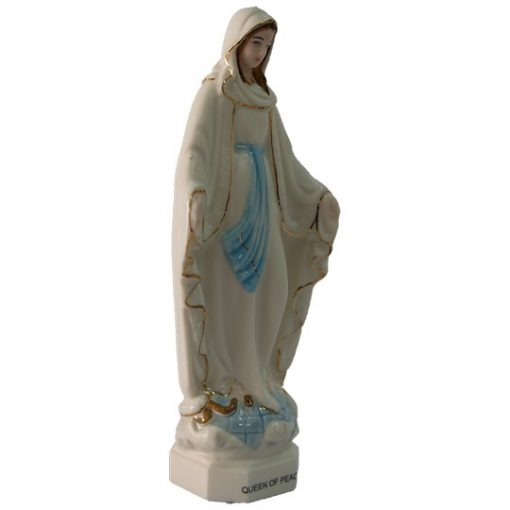 Tượng Đức Mẹ Ban Ơn Sứ Ceramic Cao 11cm