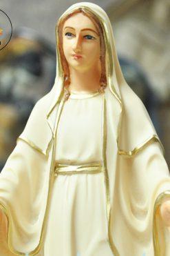 Tượng Đức Mẹ Ban ơn 28cm Bột đá (2)