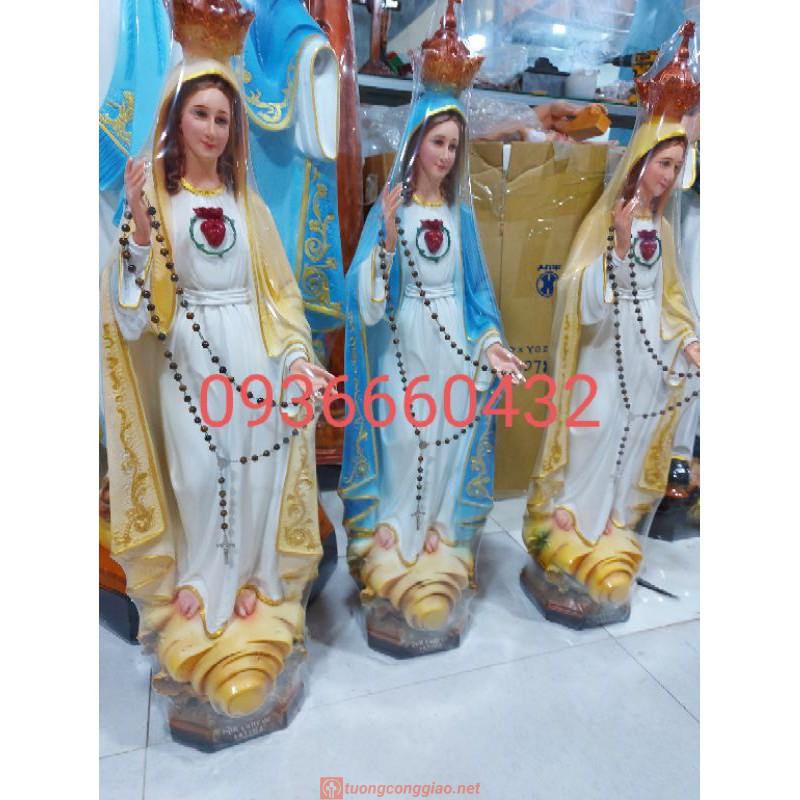 Tượng Đức Mẹ Fatima Cao 50cm Triều Thiên 02