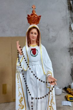 Tượng Đức Mẹ Fatima Cao 50cm Triều Thiên 03