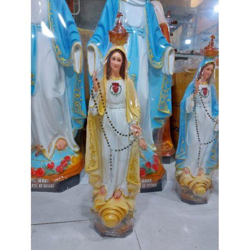 Tượng Đức Mẹ Fatima Cao 50cm Triều Thiên 04