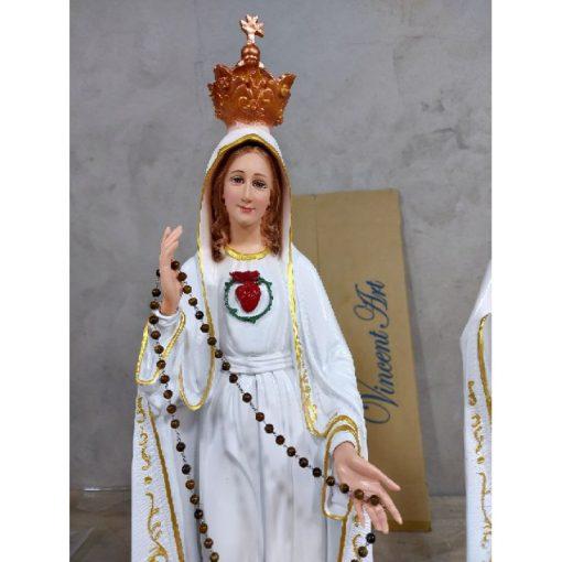 Tượng Đức Mẹ Fatima Cao 50cm Triều Thiên 06