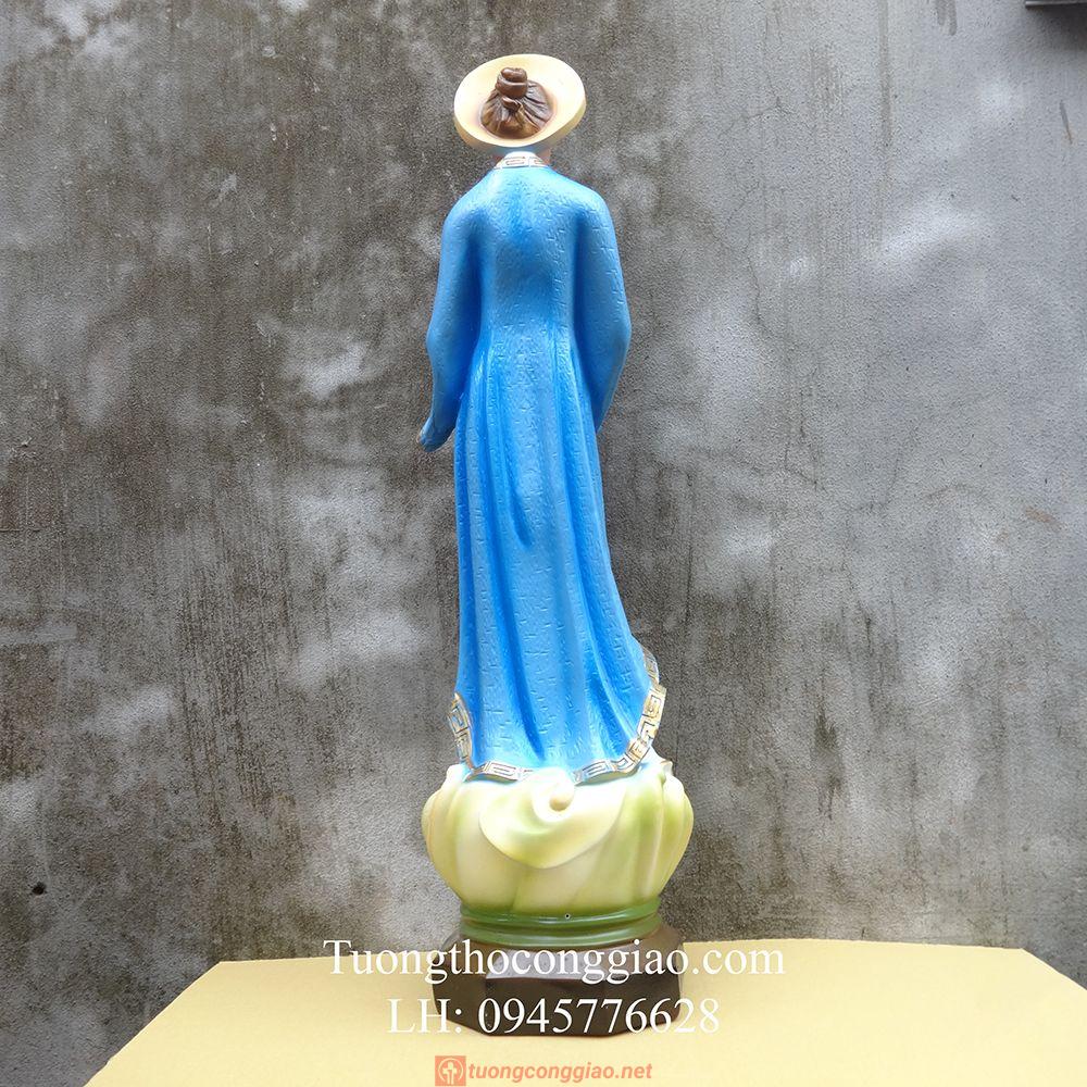 Tượng Đức Mẹ La Vang Việt Nam Cao 80cm (2)