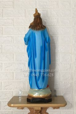 Tượng Đức Mẹ Mân Côi 70cm (3)
