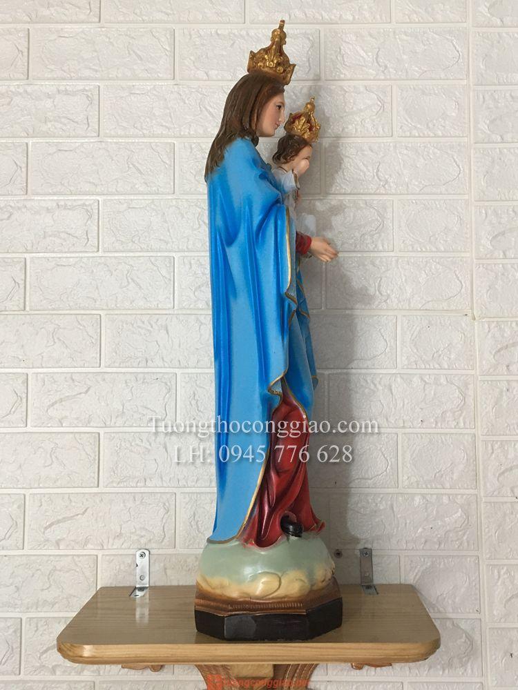 Tượng Đức Mẹ Mân Côi 70cm (5)