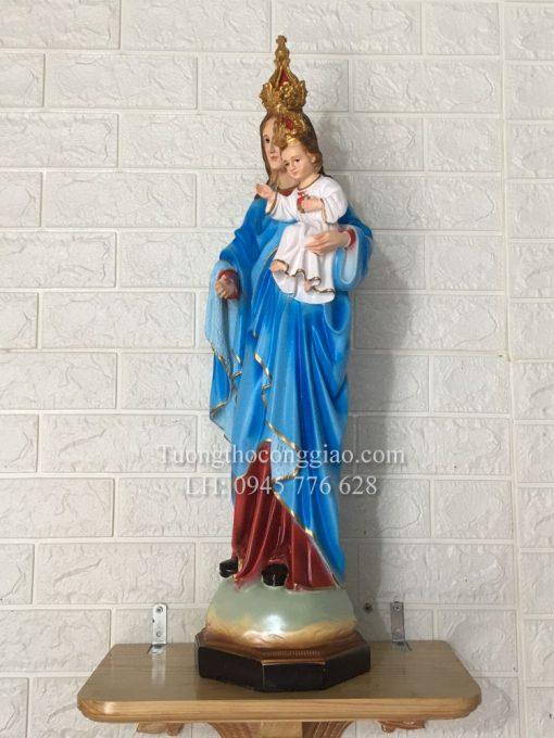 Tượng Đức Mẹ Mân Côi 70cm (6)