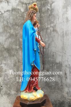 Tượng Đức Mẹ Mân Côi Cao 90cm (5)