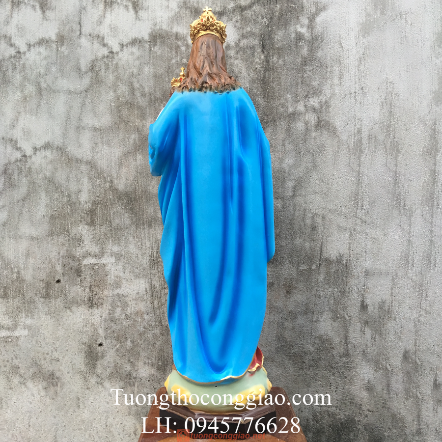Tượng Đức Mẹ Mân Côi Cao 90cm (7)