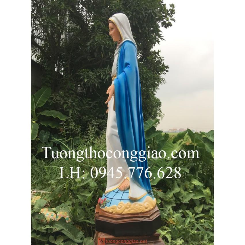 Tượng Đức Mẹ Ban ơn 120cm 05