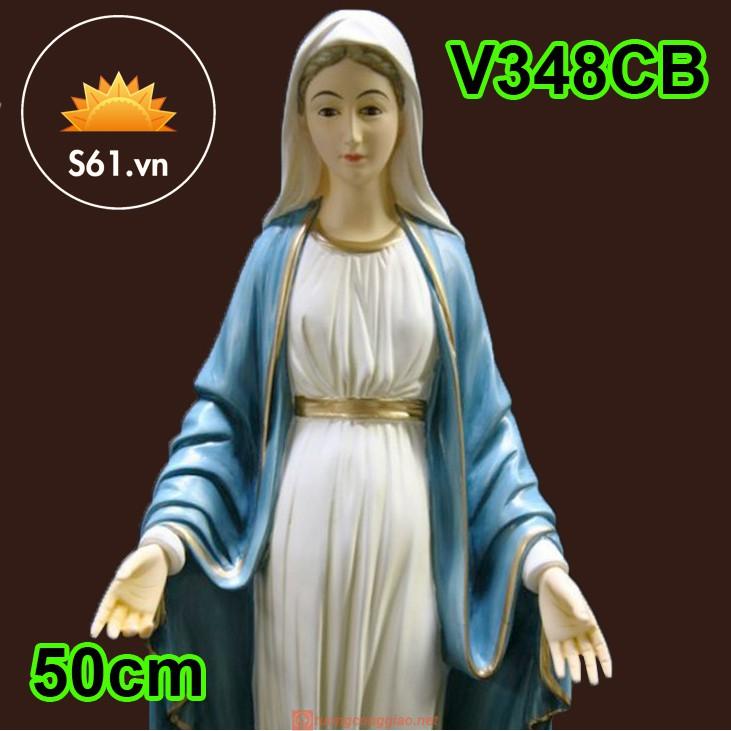 Tượng Đức Mẹ Ban ơn Mẫu Ý 50cm 02