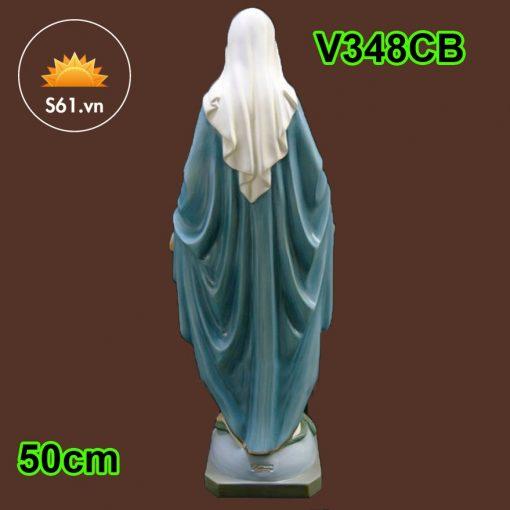 Tượng Đức Mẹ Ban ơn Mẫu Ý 50cm 03
