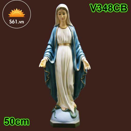 Tượng Đức Mẹ Ban ơn Mẫu Ý 50cm