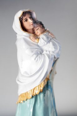 Tượng Đức Mẹ Bông Con 26cm Ánh Mắt Rất Thật 03