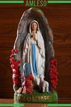 Tượng Đức Mẹ đồng Trinh Maria Trang Trí để Bàn 02
