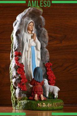 Tượng Đức Mẹ đồng Trinh Maria Trang Trí để Bàn 03