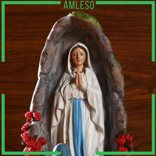 Tượng Đức Mẹ đồng Trinh Maria Trang Trí để Bàn 05