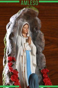 Tượng Đức Mẹ đồng Trinh Maria Trang Trí để Bàn 07