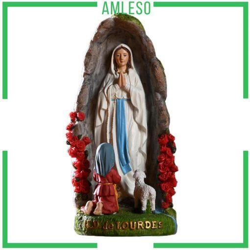 Tượng Đức Mẹ đồng Trinh Maria Trang Trí để Bàn