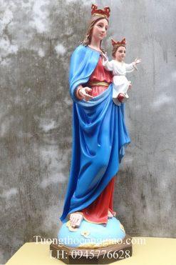 Tượng Đức Mẹ Phù Hộ 100cm (2)