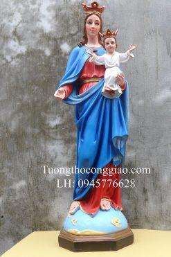 Tượng Đức Mẹ Phù Hộ 100cm (3)
