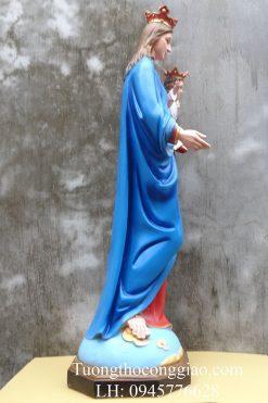 Tượng Đức Mẹ Phù Hộ 100cm (4)