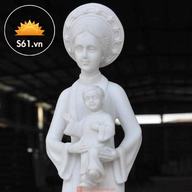 Tượng Mẹ La Vang 40cm Mẫu Ý 02
