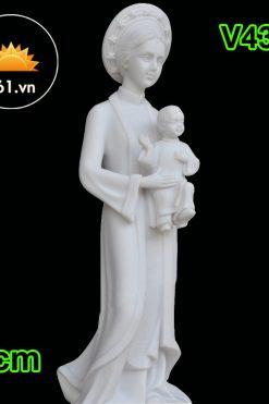 Tượng Mẹ La Vang 40cm Mẫu Ý