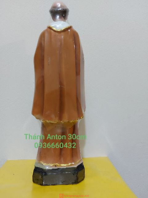 Tượng Thánh Anton 30cm Composite 03