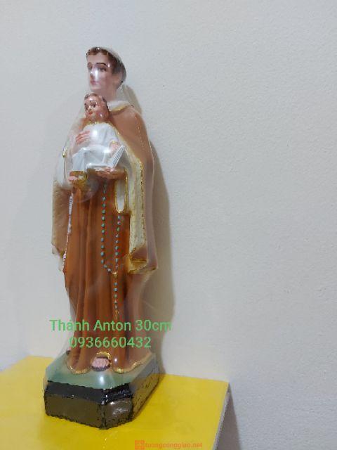 Tượng Thánh Anton 30cm Composite 04