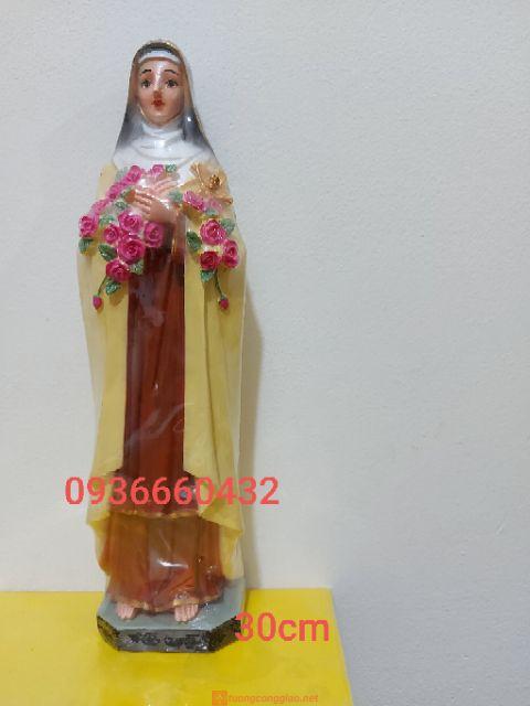 Tượng Thánh Nữ Teresa 30cm 02
