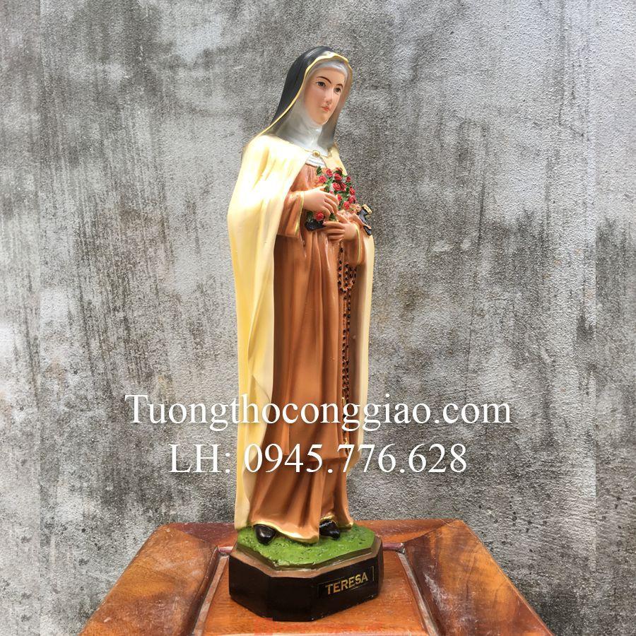 Tượng Bà Thánh Teresa Cao 40cm 02