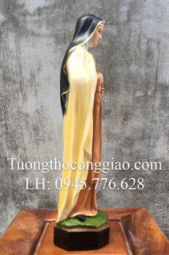 Tượng Bà Thánh Teresa Cao 40cm 03