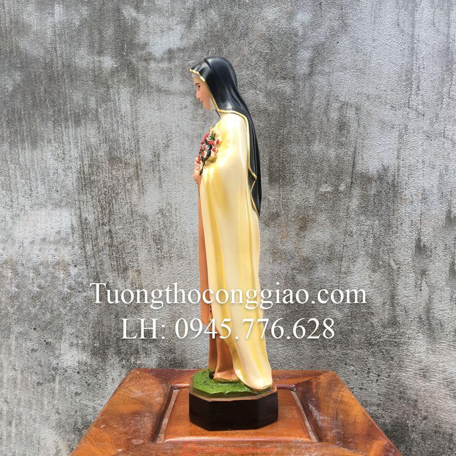 Tượng Bà Thánh Teresa Cao 40cm 04