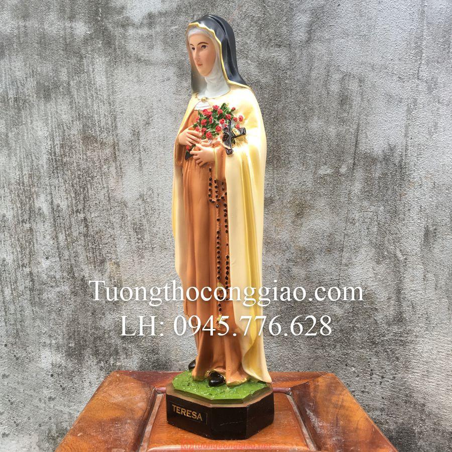 Tượng Bà Thánh Teresa Cao 40cm 05