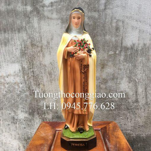 Tượng Bà Thánh Teresa Cao 40cm