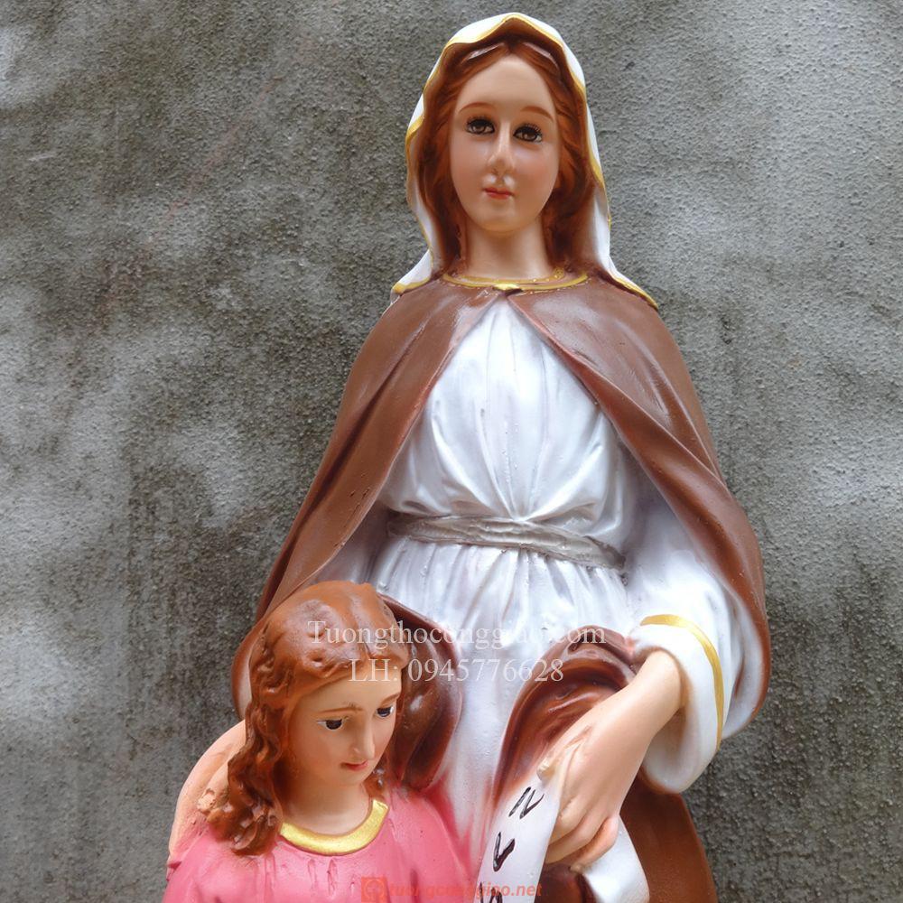 Tượng Bà Thánh Anna Cao 50cm 02