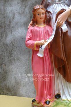Tượng Bà Thánh Anna Cao 50cm 03