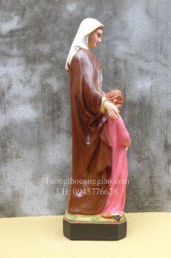 Tượng Bà Thánh Anna Cao 50cm 05