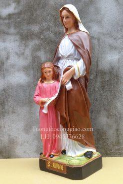Tượng Bà Thánh Anna Cao 50cm 07