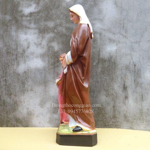 Tượng Bà Thánh Anna Cao 50cm 08