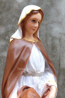 Tượng Bà Thánh Anna Cao 50cm 09