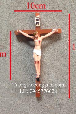 Tượng Chịu Nạn 10cm, Thánh Giá 18cm 04