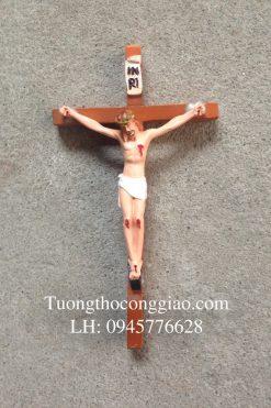 Tượng Chịu Nạn 10cm, Thánh Giá 18cm